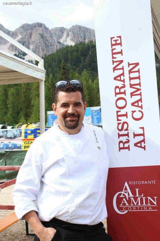 Casamontagna - Chef Ampezzani alle olimpiadi - Pompanin